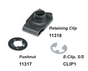 Clips and Pushnuts